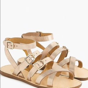 J.CREW Strappy Buckled Sandals